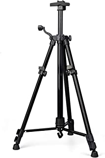 HDGZ Easels Iron Triangle Art Easel, Portable Collapsible Multi-Function Easel, Bracket Hand-Drawn Sketching Shelf