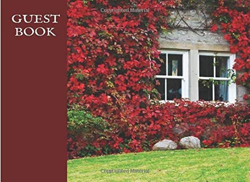 トマト濃度降ろすGuestbook: Vacation Rental English Garden Visitor Guest Book for Airbnb, VRBO, TripAdvisor, Booking Guests, 120 pages