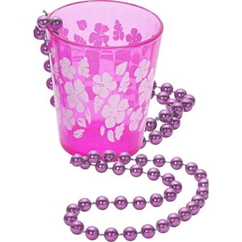Verre à liqueur à pendre autour du cou pour enterrement vie de jeune fille accessoire verre à alcool rose enterrement vie célibataire collier gobelet à liqueur avec chaîne pour enterrement vie de jeune fille