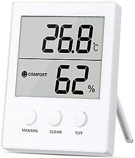 YIN YIN, higrómetro de la Temperatura, Sencilla Oficina en el hogar de Alta precisión higrómetro electrónico de la Tempera...