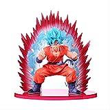Missyou Figura De Acción De Dragon Ball Z Son Goku 19 Cm, Modelo Toy Super Saiyan Den Kaioken Modelo...