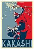Póster de Naruto 'Propaganda' Kakashi Hatake 15x23' (38 x 58 cm) (380 x 580 mm)