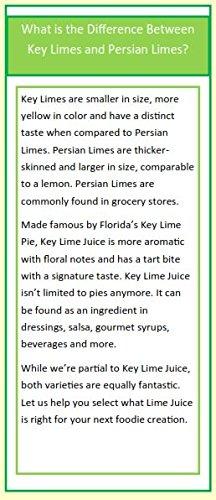 Florida Key West 100% authentisch Key Lime Juice 16 Oz - 6