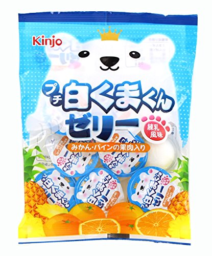 金城製菓 プチ白くまくんゼリー練乳風味 16g×9個×20袋