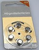 Hörgerätebatterien Größe 312er 6 Stück von...