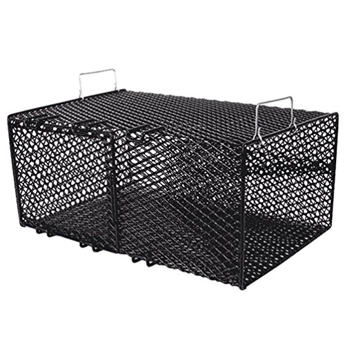 Frabill Rectangular Pinfish Trap   Vinyl Dipped Steel Mesh Trap Specifically Designed for Pinfish   Freshwater and Saltwater Tested