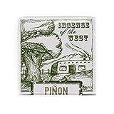 Incienso de Santa Fe - Piñon Natural Wood Incense Bricks, 40 Count