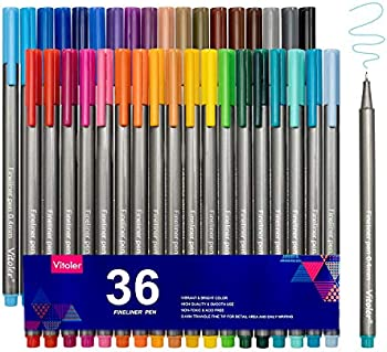 Vitoler Fine Line Drawing Colored Pen Markers