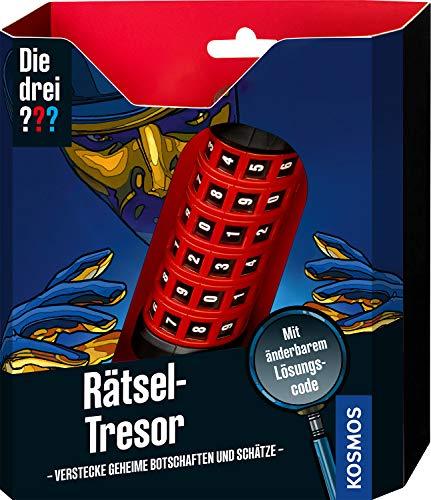 Kosmos Die drei ??? Rätsel-Tresor, Detektiv Spielzeug Set für Kinder