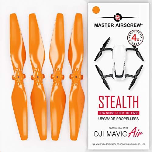 Mas Upgrade Propeller für DJI Mavic AIR in Orange - 4 Stück im Set