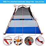 2 Person Backpacking Tent and Camping Tents, AYAMAYA Ultralight Waterproof Double Layer Easy Setup 2 Doors Lightweight 2 Man People Backpack Tent for Couples Hiking Fishing Motorcycle Bikepacking 117