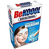 Be Koool Cooling Relief For Migraine Soft Gel Sheets 4 Each (Pack of 2)