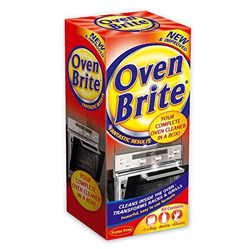 2 X Oven Brite - 500ML - Bottle Bag & Gloves Included - Complete Oven...