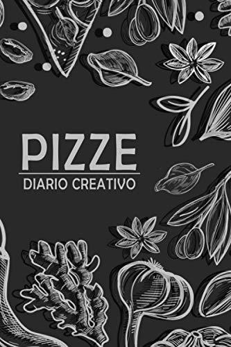 Diario di progettazione pizze: Diario / Quaderno per l'ideazione di pizze. Layout interno con sagoma pizza e lista ingredienti per tenere traccia ... delle pizze. Formato 15,24 x 22,86cm