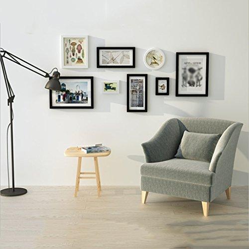 SJB Fotolijst collage DNSJB Combinatie-Foto-Wand-Wand-resistente houten slaapkamer-Moderne foto-wand-woonkamer-grote fotolijst muur