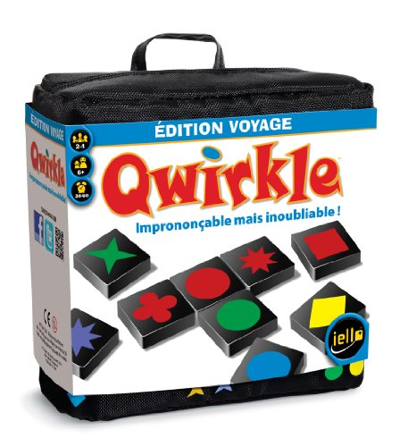 Iello - 51094 - Jeu De Voyage - Qwirkle Voyage
