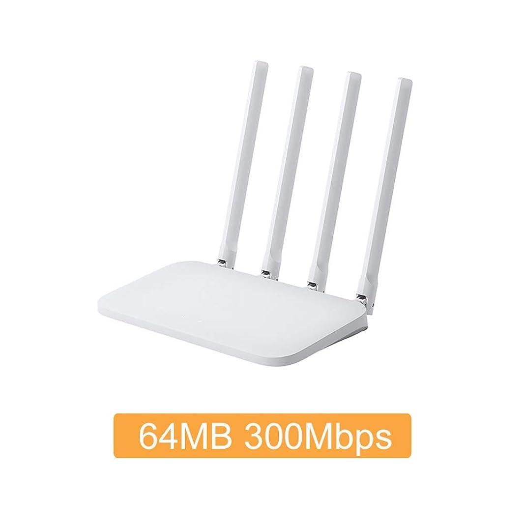 バリケード寄託ピットWIFIルーター4C 64 RAM 300Mbpsの2.4Gアンテナバンドワイヤレスルータ無線LANリピータAPPコントロール (Color : A, サイズ : US Plug)