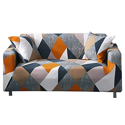 nordmiex Couch Cover Stretch Arm Chair Large Sofa Slipcover Leather Furniture Protector from Pet for Living Room,3-Seat Sofa, Pattern#MOF