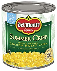 Del Monte Canned Summer Crisp Gold Corn, 11-Ounce