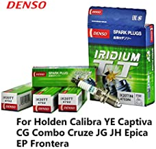 4pieces/set Car Spark Plug For Holden Calibra YE Captiva CG Combo Cruze JG JH Epica EP Frontera Iridium Platinum IK20TT