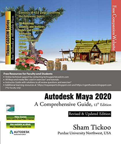 Autodesk Maya 2020: A Comprehensive Guide, 12th Edition