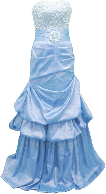 Angel Bride Taffeta Evening Birthday Party Dresses Prom Gowns Long
