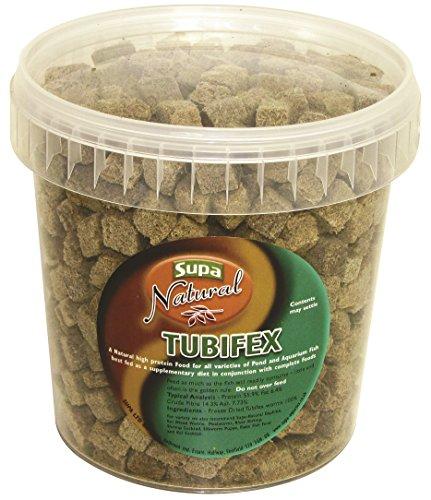 SUPA Fish Supplementary Diet Natural Tubifex, 1 Liter