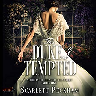The Duke I Tempted audiobook cover art