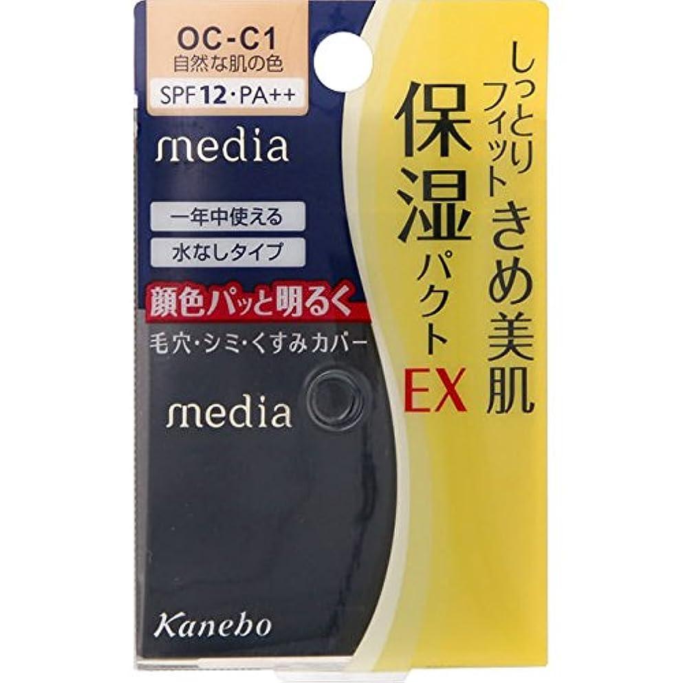 驚石油レーザカネボウ メディア モイストフィットパクトEX OC-C1(11g)