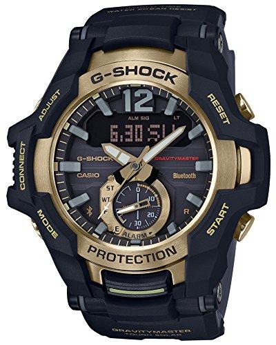 CASIO G-Shock GR-B100GB-1AJF GRAVITYMASTER Black & Gold Serie Solaruhr (japanische Originalprodukte)