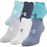 6-Pair Under Armour Women's Essential No Show Socks