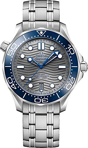 Price comparison product image Omega Seamaster Automatic Grey Dial Men's Watch 210.30.42.20.06.001