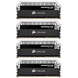 Corsair DOMINATOR Platinum Series 16GB (4 x 4GB) DDR3 DRAM 2133MHz PC3 17000 C9 Desktop Memory Kit CMD16GX3M4A2133C9