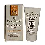 Crema Solar Facial Spf-20 Tubo 80 ml. de Fleurymer