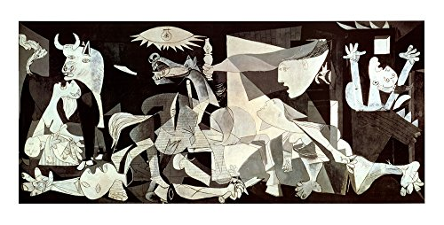 Guernica by Pablo Picasso Art Print, 43 x 22 inches