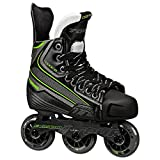 Tour Hockey Code 9 Jr Inline Hockey Skate, Black/White/Red, 13