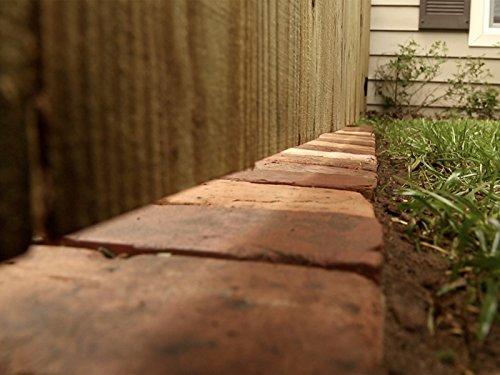 Fence Brick Border