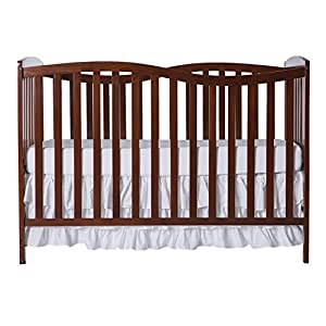 Dream On Me Chelsea 7-in-1 Convertible Crib, Espresso