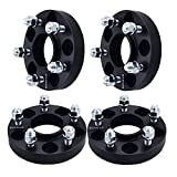 GDSMOTU 5x4.5 to 5x4.5 Hubcentric Wheel Spacers (4pc) 1' + 70.5mm Center Bore fits for Fo-rd Mustang (Only 5 Lug) 1964-2014,Taurus 2010-2017,Explorer 1991-2010,Ranger 1991-2011