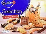 Selection 5 x 500 g Gebäckmischung, vielfältige Mischung aus Waffeln und Keksen, mit und ohne Schokolade, knuspriges Kaffeegebäck, köstliche Klassiker