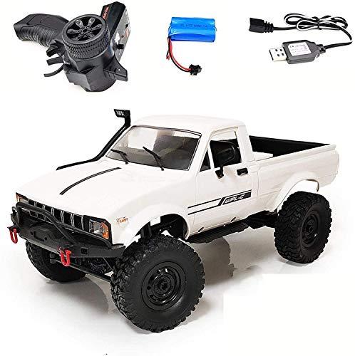 Lotees Camiones todoterreno RC RC Car 2.4GHz Off-Road Trucks Vehículos de escalada de alta velocidad Modelo de vehículo de juguetes eléctricos Carreras de carreras para adultos RC RC FAST DRIFT CAR PA