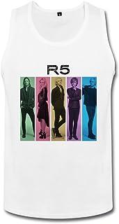 男性 クール R5 Louder カラフル ポスター タンクトップ 体に合う White