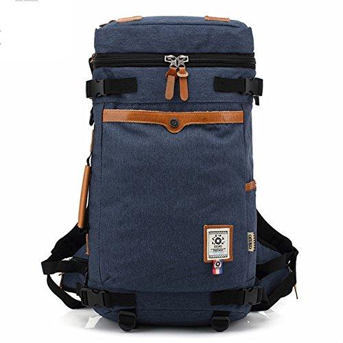 Trekkingrucksack, Fresion 3 Arten des Tragens Herren Rucksäcke Reisetaschen Schultertasche für Wandern Reisen (Oxford Blau)