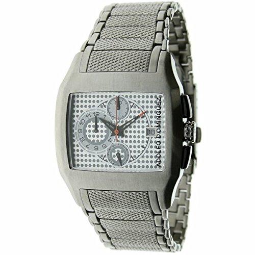 Adolfo Dominguez ref. 62002 - Reloj de caballero de cuarzo con cronómetro, cadena en acero