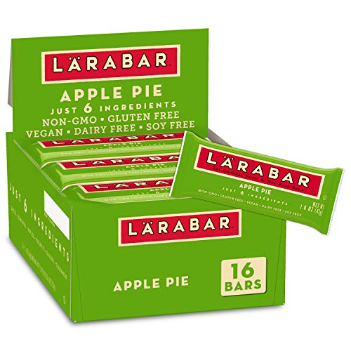 Larabar Gluten Free Bar, Apple Pie, 1.6 oz Bars (16 Count)
