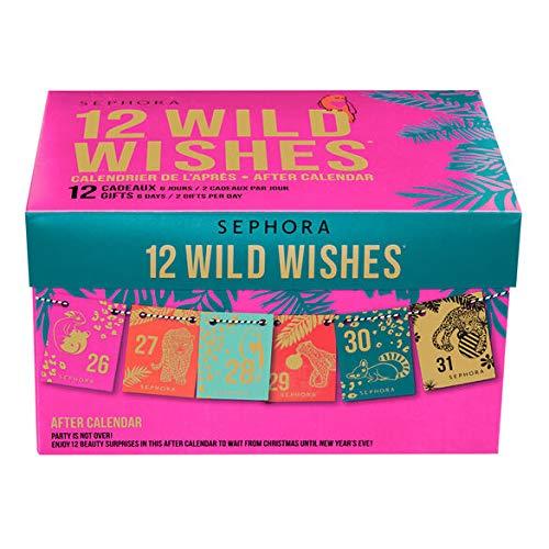 Sephora Beauty adventskalender 2020 – beauty-verrassingen 12 wild wishes – after kalender – gelimiteerd