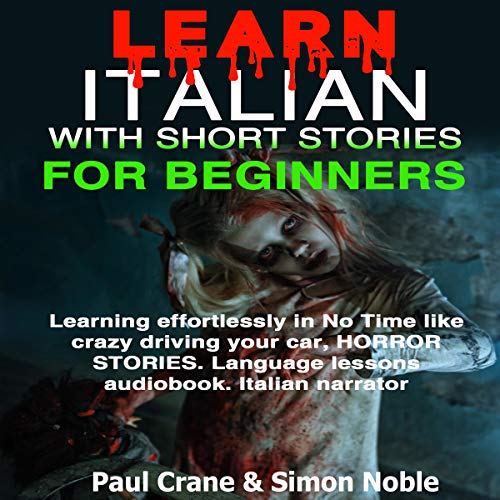 Learn Italian with Short Stories for Beginners cover art