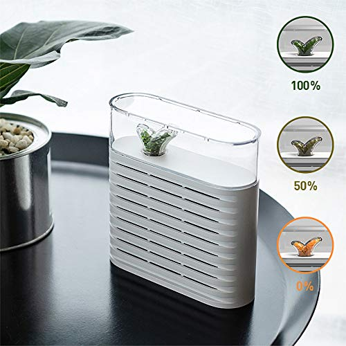 Buy Bargain Mini Home 150ML Portable Plant Air Dehumidifier,Rechargeable Reuse Air Dryer Moisture Ab...