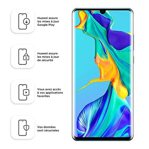 classement un comparer Smartphone Huawei P30 Pro Unlock 4G (6,47 pouces – 8/128 Go – Dual Nano SIM – Android 9)…