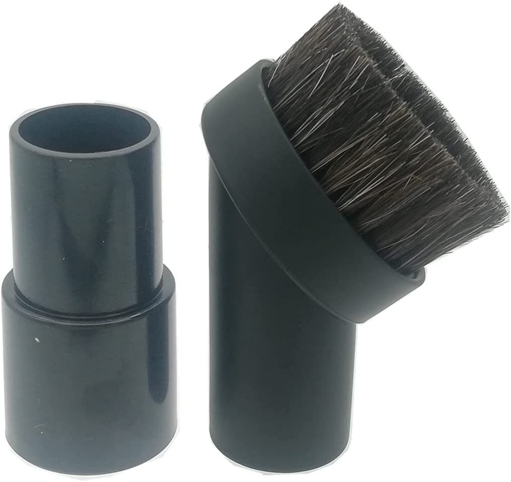 Max 43% Sales for sale OFF Millie 25MM Round Soft Mixed Horse Hair Brus Dust Cleaner Vacuum